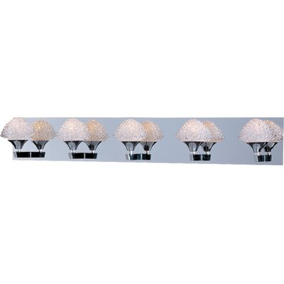 ET2 Blossom 5 Light Bathroom Vanity Light