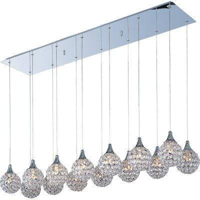 Wildon Home ® Vibrato 14 - Light Linear Pendant