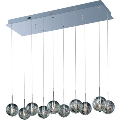 Wildon Home ® Celeste 10 - Light Linear Pendant