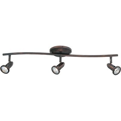 Wildon Home ® Agron 3 Light Linear Semi Flush Mount