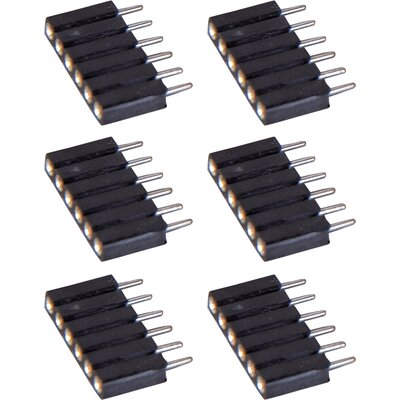 ET2 StarStrand LED Tape 6-Pin Male Extender (6 Pack)