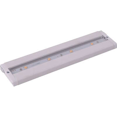 "Wildon Home ® CounterMax MX-L-LPC 12"" 4-Light LED Under Cabinet Light"