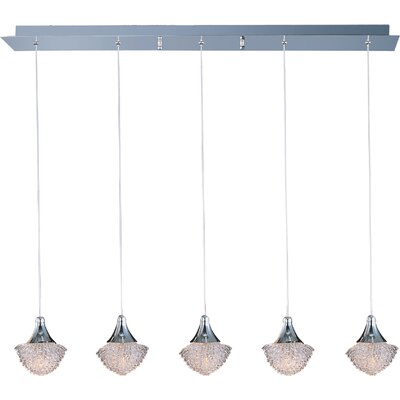 Wildon Home ® Voices 5 - Light Linear Pendant
