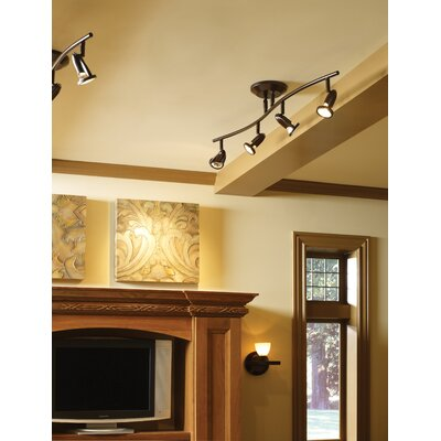 ET2 Agron 4 Light Linear Semi Flush Mount