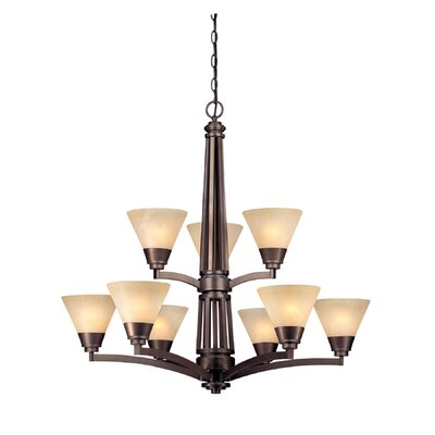 Dolan Designs Covina 9 Light Chandelier