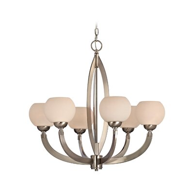 Dolan Designs Odyssey 6 Light Chandelier