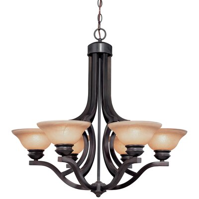 Dolan Designs Garrison 6 Light Chandelier