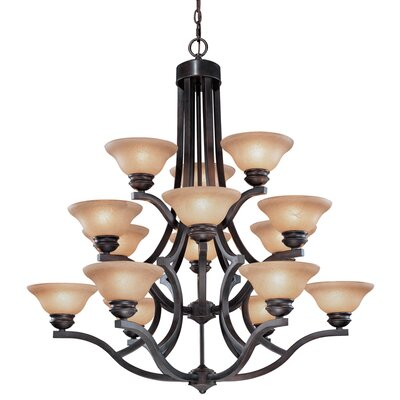 Dolan Designs Garrison 15 Light Chandelier