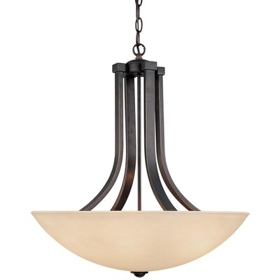 Dolan Designs Fireside 4 Light Inverted Pendant