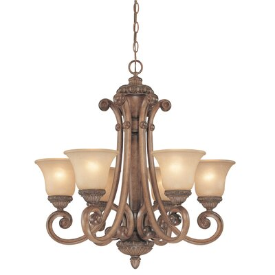 Dolan Designs Carlyle 6 Light Chandelier
