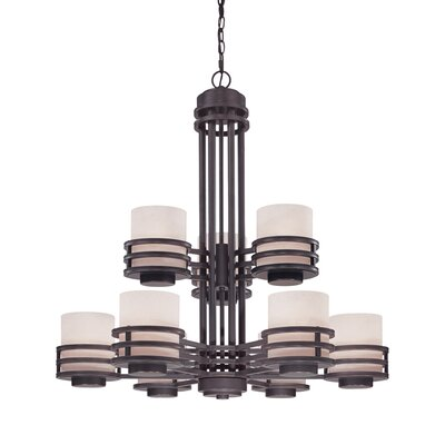 Dolan Designs Saturn 9 Light Chandelier