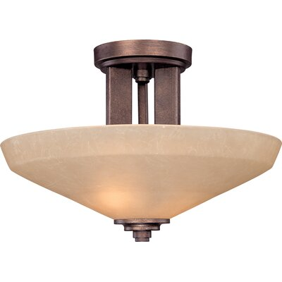 Dolan Designs Sherwood 2 Light Semi Flush Mount