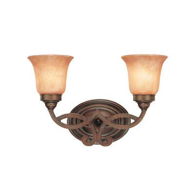 Dolan Designs Medici 2 Light Vanity Light