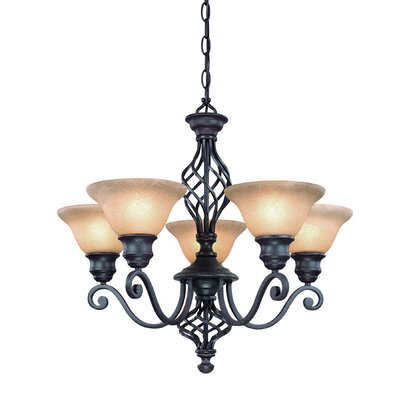 Dolan Designs Atlantis 5 Light Chandelier