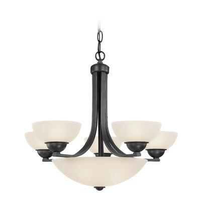 Fireside 5 Light Bowl Chandelier