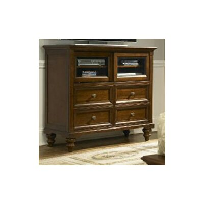 Reedsport 4 Drawer Media Chest