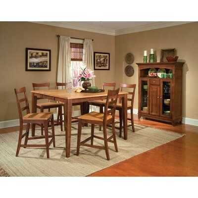 A-America Bristol Point 7 Piece Counter Height Dining Set