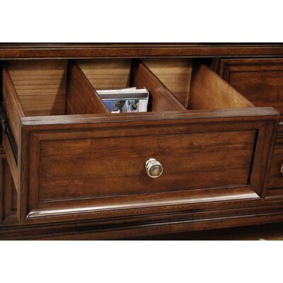A-America Reedsport 4 Drawer Media Chest