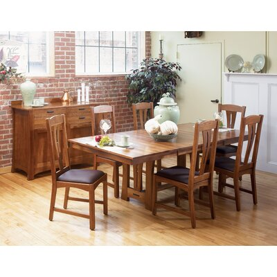 A-America Cattail Bungalow 7 Piece Dining Set