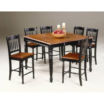 A-America British Isles 7 Piece Counter Height Dining Set