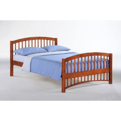 Night & Day Furniture Zest Molasses Bed in Chocolate