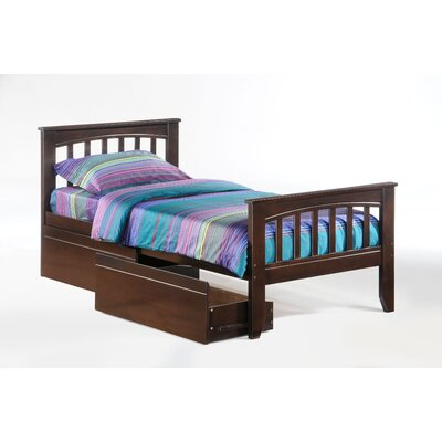 Night & Day Furniture Zest Sarsaparilla Bed in Chocolate