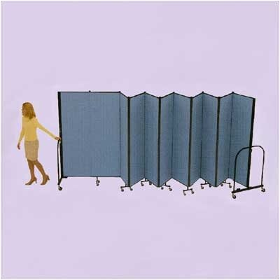 ScreenFlex Commercial Edition Eleven Panel Portable Room Divider