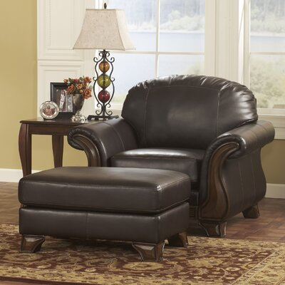 Lester Chair and Ottoman