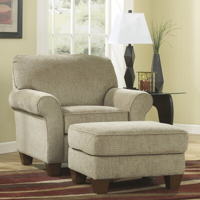 Sipsey Chair and Ottoman