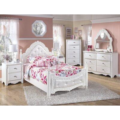 Exquisite kids four poster bedroom collection wayfair - Wayfair childrens bedroom furniture ...