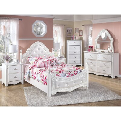 design by ashley exquisite kids four poster bedroom collection