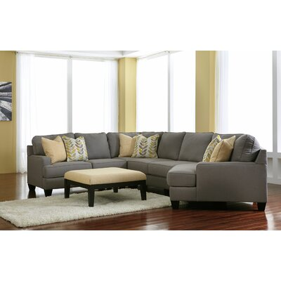 Chamberly Right Cuddler Sectional