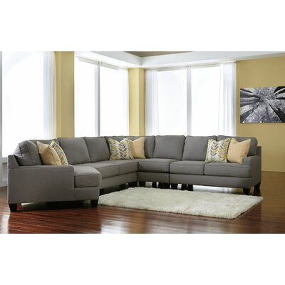 Chamberly Left Cuddler Sectional