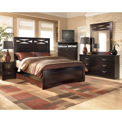 Signature Design by Ashley Byers Panel Headboard Bedroom Collection