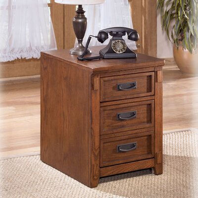 Cross Island 2-Drawer Mobile File Cabinet
