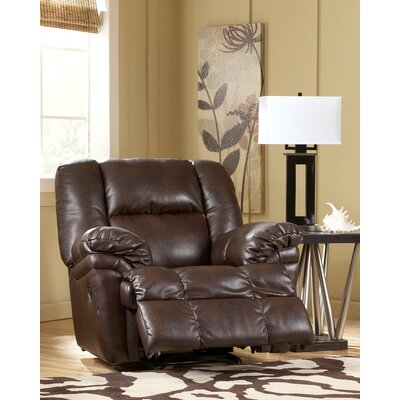 Holt chaise recliner wayfair for Ashley reclining chaise