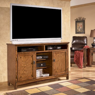 "Signature Design by Ashley Castle Hill 60"" Oversized TV Stand"