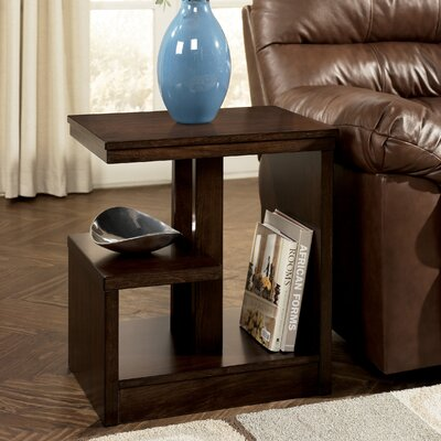 Signature Design by Ashley Caribou Chairside Table