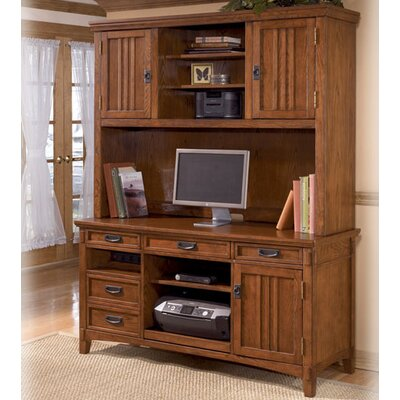 Cross Island Large Credenza with Hutch