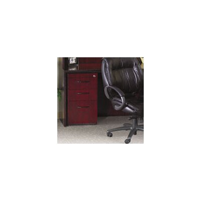Mayline Group Corsica 3-Drawer Pedestal File