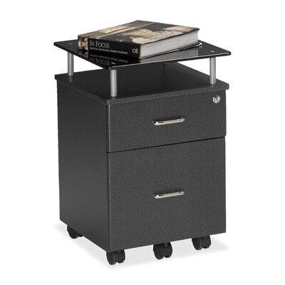 Mayline Group Vision 2-Drawer Mobile Vertical File