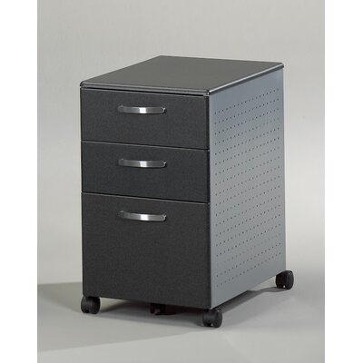 Mayline Group Eastwinds 3-Drawer Mobile File Pedestal