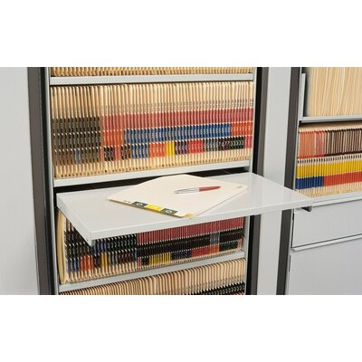 Mayline Group ARC Rotary File Pull-Out Reference Desk Shelf