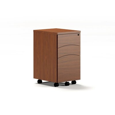 Mayline Group Brighton 3-Drawer Mobile Pedestal File