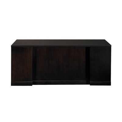 """Mayline Group Sorrento 72"""" Double Pedestal Desk with Straight Front"""
