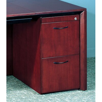 Mayline Group Corsica 3-Drawer Pedestal File for Desk