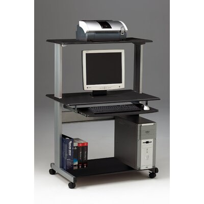 Mayline Group Crosswinds Small Office/Home Office: Mobile Multimedia Computer Worktable