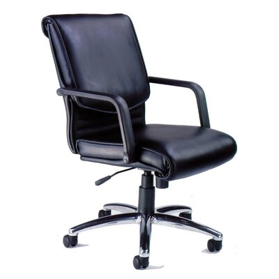 Mayline Group Mercado Alliance Mid-Back Office Chair with Arms
