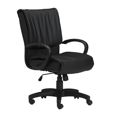 Mayline Group Mid-Back Leather Office Chair