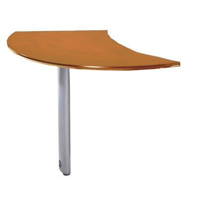 Mayline Group Napoli Curved Desk Extension